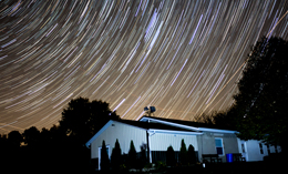 Chapel Star Trail