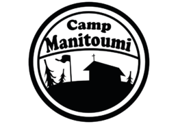 small round camp logo with bkgrnd