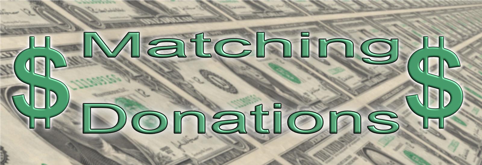 match donate